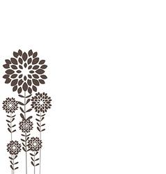 Stalks black background vector