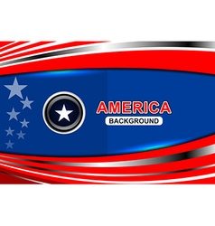 usa flag modern backgrounds vector image