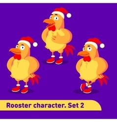 set includes three standing vector image