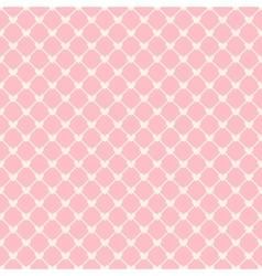 Heart shape seamless pattern tiling vector image vector image