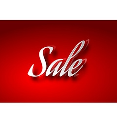 Sale Table vector image vector image