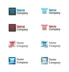 Logo icon set vector image