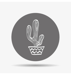 Cactus icon design vector
