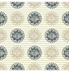 Abstract vision pattern vector