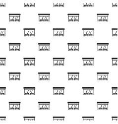 Bus stop pattern vector