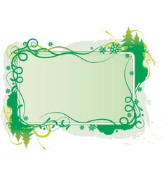 Christmas graphic banner vector image vector image