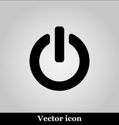 On off switch web icon vector