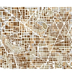 Background city map vector