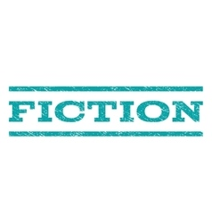 Fiction watermark stamp vector