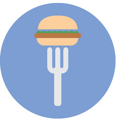 Junk fast foods icon vector