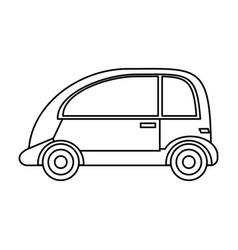 automobile vehicle eco image vector image