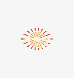 eye swirl spiral infinity logo creative vector image