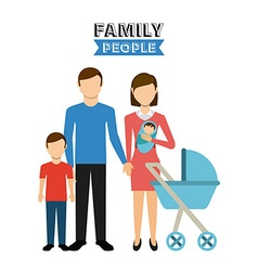 Family people vector