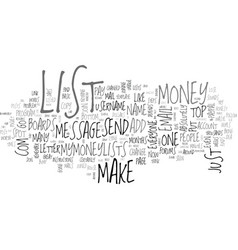 A new way to make money online text word cloud vector