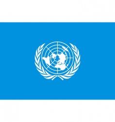 un flag vector image