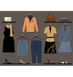 Women fashion vector