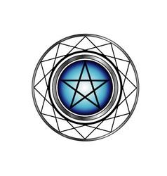 Pentacle symbol vector image vector image