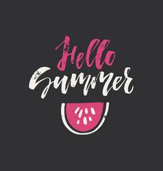 Summer lettering vector