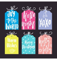 Christmas card templates vector