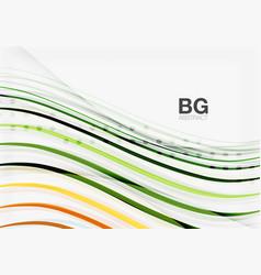 modern wave lines elegant wave abstract vector image
