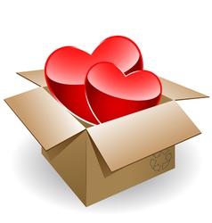 box love vector image