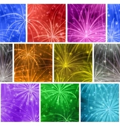 Fireworks seamless vector