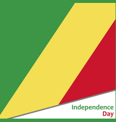 Congo independence day vector