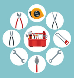 Construction tools icons set ilustration vector