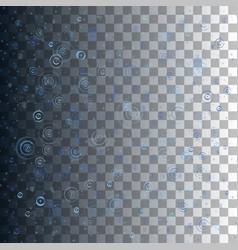 water circles vector image