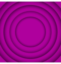 Concentric Purple 6 Circle Background vector image