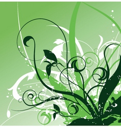 floral image vector image