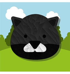 Animal cute vector
