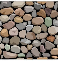 decorative stone wall vector image
