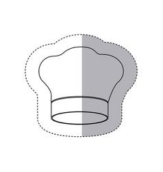 figure chef hat icon vector image vector image