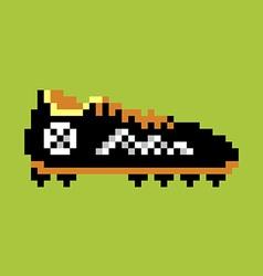 Football boot vector