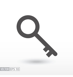 Key - flat icon vector
