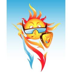 Solar Activity vector image