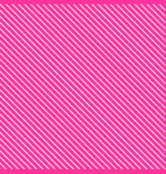 Tile pink and white stripes pattern vector