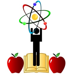 Science symbol vector image