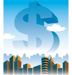 Moneystatue vector