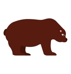 Stock bear isolated icon design vector