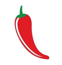 Chili pepper vegetable icon vector