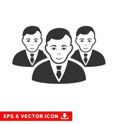 Manager group eps icon vector