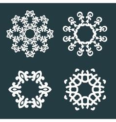 Ornamental patterns vector