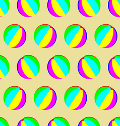Toy ball pattern seamless vector