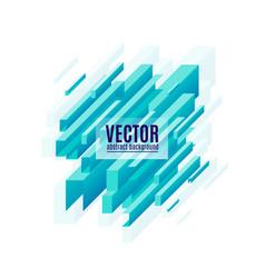 Blue geometric diagonal vector