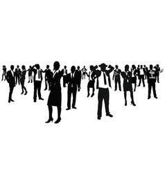 business people group vector image vector image