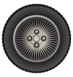 car mag wheel vector image