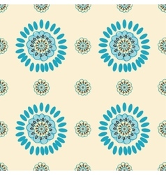 Ethnic Colorful pattern backgrounds vector image