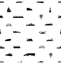 Means of transport pattern eps10 vector
